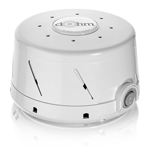 Dohm Noise Machine Quality Sounds for Deeper Sleep, Relaxation and Enriched Concentration, White