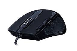 Tesoro Shrike H2L V2 8200 DPI 8 Programmable Onboard Memory Key Adjustable Weight Black Laser Gaming Mouse TS-H2L (BK)