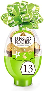 Ferrero Rocher Easter Egg Gift Box, 13 Count, Pack of 24, Individually Wrapped Fine Milk Chocolate Hazelnut Ca