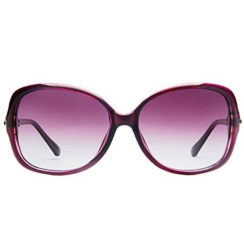 polarizadas Sol de Coreanas 3 1 Delgadas Gafas de Sol Gafas Femeninas Color Gafas DT fqwY0AW