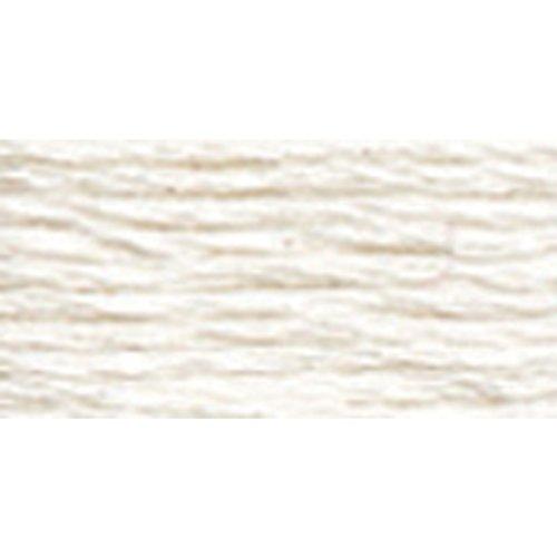 DMC 487-BLANC Tapestry & Embroidery Wool, 42.7-Yard, White - Dmc Tapestry Wool Skein