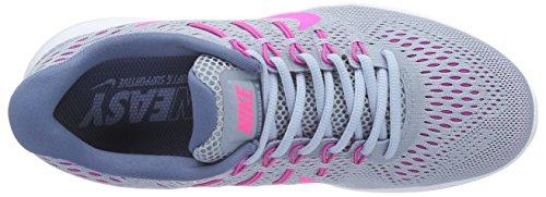 Nike Femmes Lunarglide 8 Haut-bleu Gris Bleu / Rose Brouillard Teinte Océan