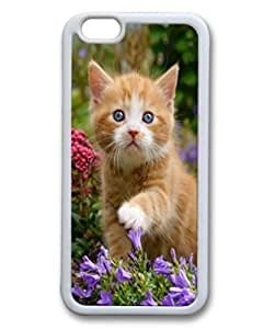 Andre-For SamSung Galaxy S3 Phone Case Cover Cute Fancy Cat and nyqEjIKrfr7 Flowers Pattern Hard Back Fit for For SamSung Galaxy S3 Phone Case Cover 6 Inch