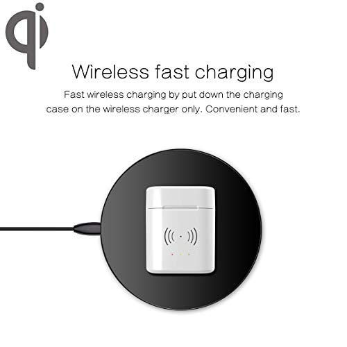 BLEAKTEIR Airpod Charging Case Airpod Charger Adapter Compatible with airpods Headphones Wireless