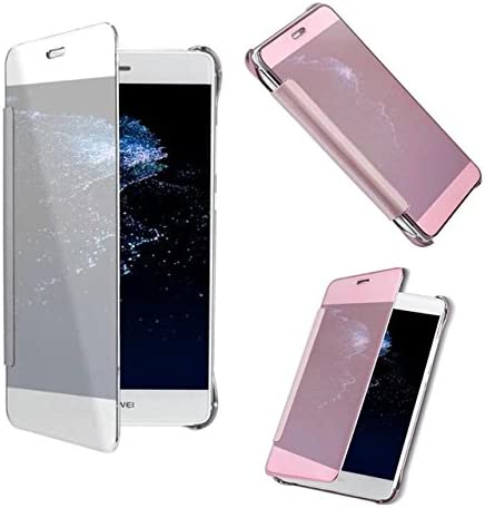 For Huawei P8 lite Smart View Clear Mirror Screen Case for Huawei ...