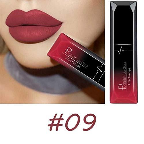 Waterproof Velvet Liquid Lipstick Sexy Red Lip Tint 21Color Lip Balm Makeup Long Lasting Matte Nude Gloss Lipgloss 9