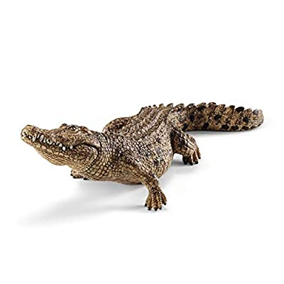 Schleich Wild Life Crocodile Educational Figurine for Kids Ages 3-8: Schleich: Toys & Games