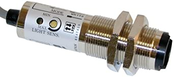 """Shimpo MCS-655 Photo Reflective Sensor, 100mA max Load Current, NPN Open, 10-30VDC, 333Hz Switching Frequency, 1"""" - 3' Sensing Distance"""
