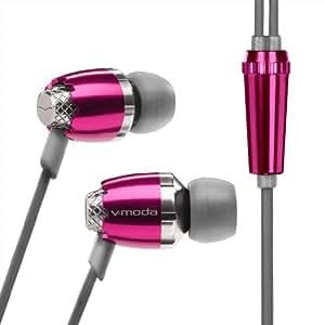 V-MODA Remix In-Ear Noise-Isolating Metal Headphone (Blush)