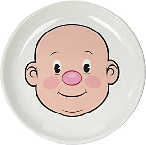 Fred MR. FOOD FACE Kids' Ceramic Dinner Plate