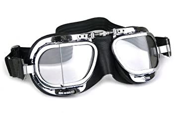 27400b8bf7 HDM Mk9 Compact Deluxe - Classic Motorcycle Goggles and Flying Goggles by  Halcyon