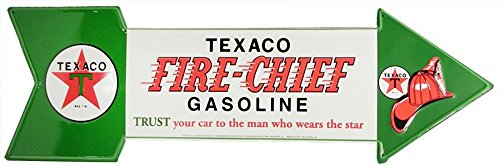 Texaco Fire-Chief Metal Tin Sign from Redeye Laserworks (Fire Chief Tin)