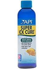 API Liquid Super ICK Cure Freshwater and Saltwater Fish Medication 4-Ounce Bottle