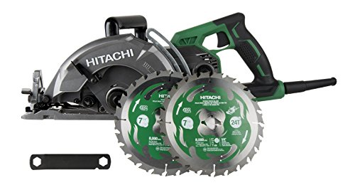 Magnesium Worm Drive Circular Saw - Hitachi C7WDM 7 1/4