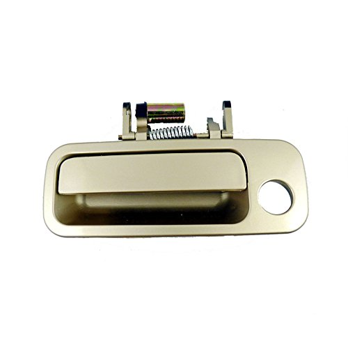 Eynpire 8010 Exterior Outside Outer Front Left Driver Side Beige Door Handle For 1997 1998 1999 2000 2001 Toyota Camry