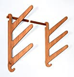 Bamboo Surf Rack for 3 Shortboard Surfboards - Grassracks Kaua'I Trip