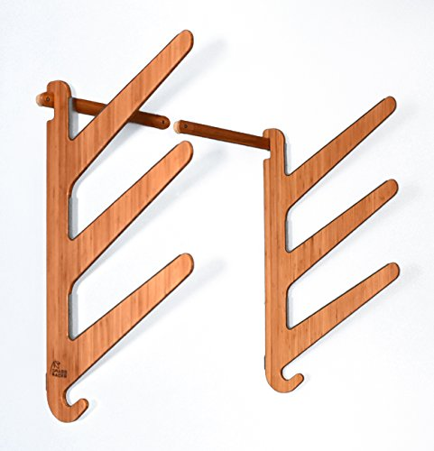 Bamboo Surf Rack for 3 Shortboard Surfboards - Grassracks Kaua'I Trip by Grassracks