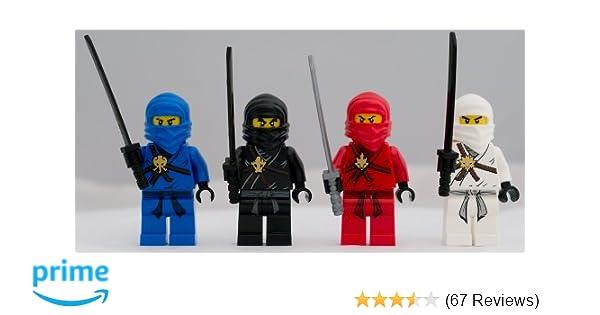 Amazon Lego Ninjago Set Of 4 Minifigures