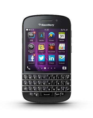 Blackberry Q10 Unlocked Cellphone, 16GB, Black - Unlocked Blackberry