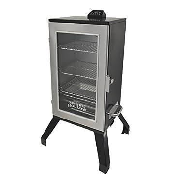 Smoke Hollow 3016DEWS 30  Digital Electric Smoker with Window, Stainless Steel