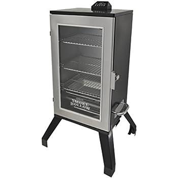 Smoke Hollow 3016DEWS 30-Inch  Digital Electric Smoker with Window, Stainless Steel