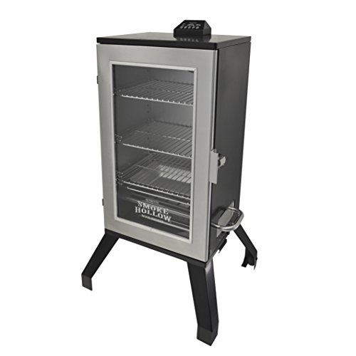 Smoke Hollow 3016DEWS 30-Inch  Digital Electric Smoker with Window, Stainless Steel by Smoke Hollow