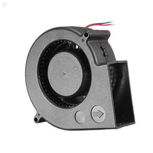 uxcell 97mm x 33mm 24V DC Blower Cooling Fan, Long Life Dual Ball ()