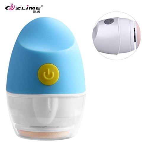 DZT1968 ZLIME 4D Technology Shocking Cosmetic Sponge Electric Puff Unique Egg Shape - Face Egg Shape