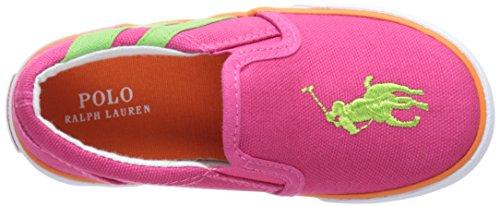 POLO RALPH LAUREN - Fuchsia Slippers aus Stoff, Mädchen