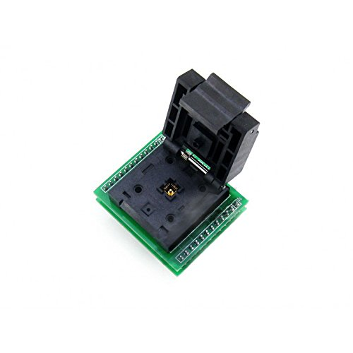 CQRobot Programmer Adapter Pitch 0.5mm, QFN24 to DIP24-A, Enplas IC Test Socket and Programming Adapter for QFN24 MLF24 MLP24 Package. by CQRobot