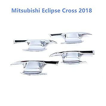 HIGH FLYING f/ür Eclipse Cross 2018 2019 Interieur T/ürgriff Interieurleisten 4 St/ück ABS Kunststoff Chromed