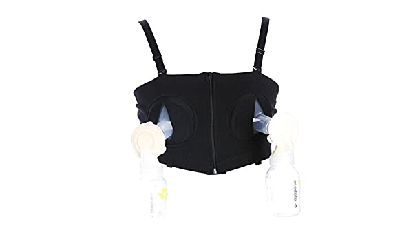 ae8887f76bcb5 Amazon.com   Fund Hidden Nursing Bra Middle Hole Maternity Breastfeeding  Strapless Strap Underwired Feeding Baby Bra (M(Breast 74~104cm)