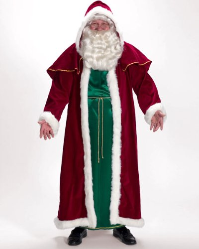 Halco Victorian Santa Adult Costume - Standard One-Size