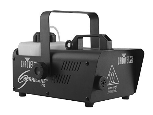 CHAUVET DJ H1200 Compact and Lightweight Fog Machine w/Timer Remote ()