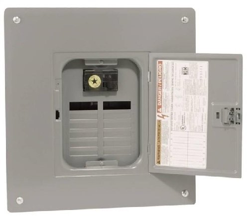 - 100 Amp Manual Transfer Switch with Indoor Load Center