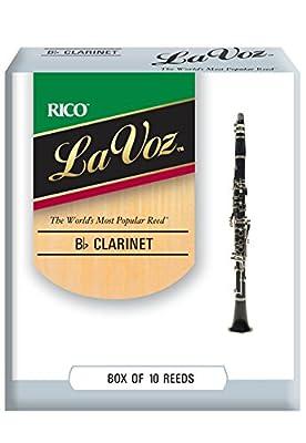 La Voz Bb Clarinet Reeds Strength Hard 10-pack