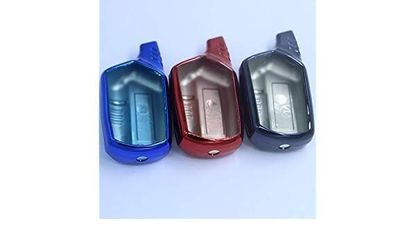Amazon.com: TPU B9 B6 A91 A61 funda de silicona para Starline B9 B6 A91 A61 LCD remoto sólo dos vías del coche starline B9 B6 A91 A61 caso: Car Electronics