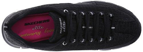 Skechers Sneaker Fashion Silver Multi Trend Setter Black Sport Women's XHwIYxqXr