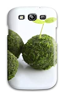 Premium Seedlings In Grass Spheres Cover Skin For Galaxy S3