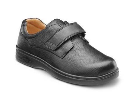 Dr. Comfort Women's Maggy X Black Diabetic Casual Shoes 10.0 Medium (M/D) Black Velcro US Woman