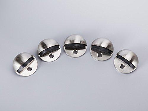 YIKAPRO provide Dome Door Stop with rubber Bumper in Satin Nickel,Floor mounted,YKP-DS001,EAN NO.:6971156880065