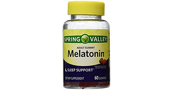Amazon.com: Primavera Valle adulto Gummy Melatonina 5 mg ...