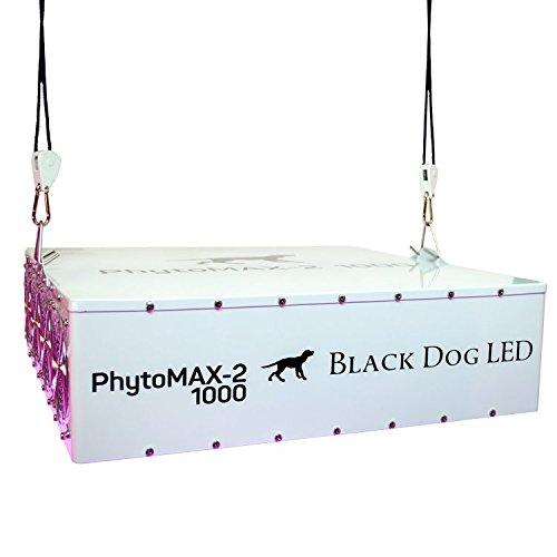 Black Dog LED PhytoMAX-2 1000 Grow Lights | High Yield Full Spectrum Indoor Grow Light with Bonus Quick Start Guide