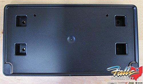 Mopar Dodge Durango Front License Plate Bracket Mounting Holder OEM ()