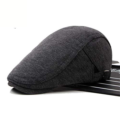 de Gorra A para algodón de sólido GLLH Color Sombrero Sombreros Bailey Pato D qin hat Hombres de Lengua wUIqvI