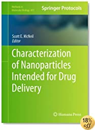 Characterization of Nanoparticles Intended for Drug Delivery (Methods in Molecular Biology)