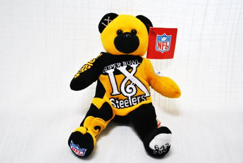 - Pittsburgh Steelers vs Vikings RARE Offical NFL Super Bowl IX(9) Collectable Plush Bear