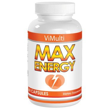 Energy Pills That Eliminate Fatigue and Increase Energy for 10 hours Without Terrible Tasting Shots, Crashes,Calories, Jitters or Insomnia. Vimulti Max Energy Increases Endurance To Train Harder, Longer and Faster. Improves focus, ADD and Powers Your Workouts, Runs and Rides.Rated Best Energy Supplement