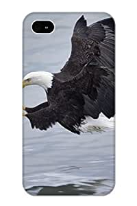 Quality Resignmjwj Case Cover With Animal Bald Eagle Nice Appearance Compatible With Iphone 4/4s()