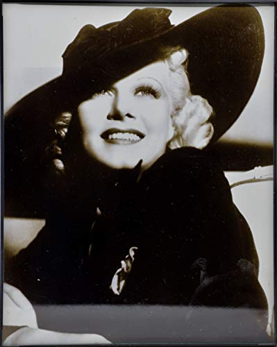 1930's Jean Harlow - George Hurrell Photographic Image - Framed 8x10 B&W - Collectible